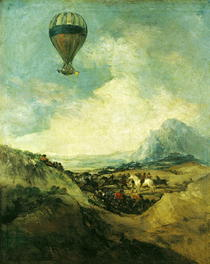 The Balloon or von Francisco Jose de Goya y Lucientes