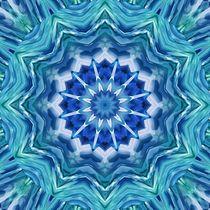 Mandala Meeresbrise von Christine Bässler