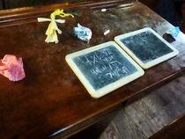 School Slates by Susan Savad