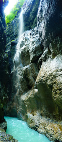 Partnachklamm Wasserfall von Sabine Radtke