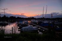 Sunset Abendstimmung am Tegeler See by Kurt Gruhlke