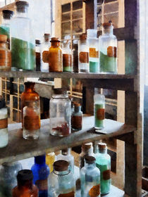 Bottles of Chemicals  by Susan Savad