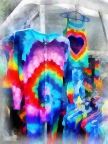 Tie Dye Shirts by Susan Savad