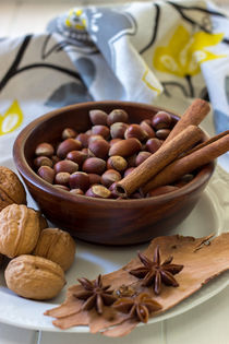 Nuts and spices von Lana Malamatidi