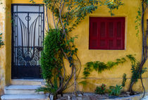 Old yellow house von Lana Malamatidi
