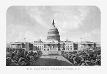 US Capitol Building Washington DC von warishellstore
