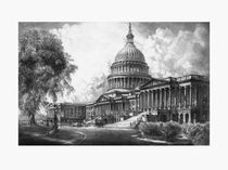 United States Capitol Building by warishellstore