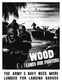 Wood Lands Our Fighters by warishellstore
