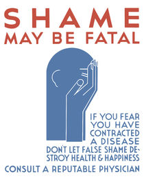 Shame May Be Fatal -- WPA Poster by warishellstore