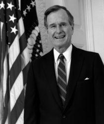 1015-president-george-h-w-bush-official-portrait-poster-print-us-flag