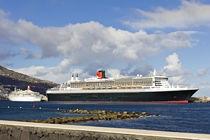 Hafen von La Palma mit QM 2 von monarch
