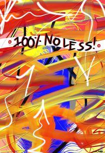 100% No Less! von Vincent J. Newman