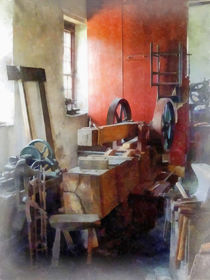 Blacksmith Shop Near Window von Susan Savad