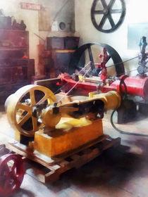 Turn of the Century Machine Shop von Susan Savad