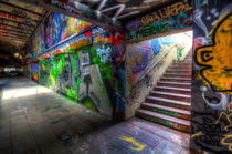 Leake Street London Graffiti  von David Pyatt