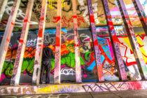 Leake Street Graffiti Artist  von David Pyatt