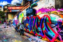 Leake Street Graffiti Artists von David Pyatt