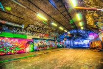 Leake Street London von David Pyatt