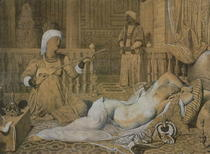 Odalisque with a Slave von Jean Auguste Dominique Ingres