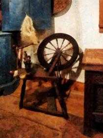 Small Spinning Wheel by Susan Savad