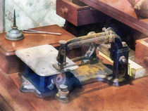 Vintage Sewing Machine Circa 1850 by Susan Savad