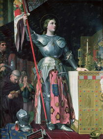 Joan of Arc  by Jean Auguste Dominique Ingres