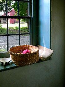 Basket With Yarn by Susan Savad