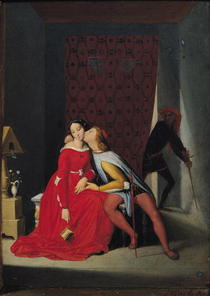 Gianciotto Discovers Paolo and Francesca von Jean Auguste Dominique Ingres