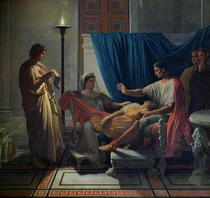 Virgil Reading the Aeneid to Livia, Octavia and Augustus by Jean Auguste Dominique Ingres