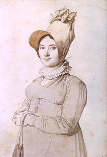 Madeleine Chapelle  by Jean Auguste Dominique Ingres