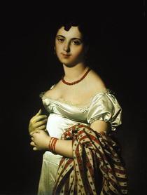 Madame Henri-Philippe-Joseph Panckouke  von Jean Auguste Dominique Ingres