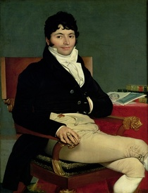 Philibert Riviere  von Jean Auguste Dominique Ingres