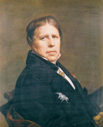 Self Portrait von Jean Auguste Dominique Ingres