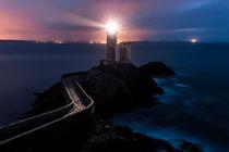 Leuchtturm Le Minou, Bretagne by Moritz Wicklein