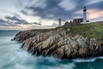 Leuchtturm Saint Mathieu, Bretagne  by Moritz Wicklein