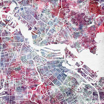 amsterdam map by Map Map Maps