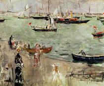 The Isle of Wight by Berthe Morisot