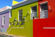 Bo-Kaap – bunte Häuser in Kapstadt, Südafrika by mellieha