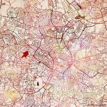 Birmingham map von Map Map Maps