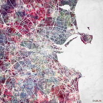 Dublin map von Map Map Maps