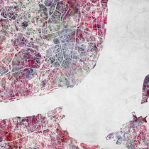 Lisbon map by Map Map Maps