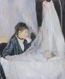 The Cradle von Berthe Morisot