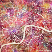 London map by Map Map Maps