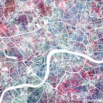 London map von Map Map Maps