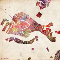 Venice map von Map Map Maps