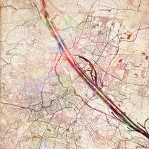 Vienna map by Map Map Maps