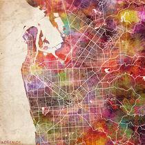 Adelaide map von Map Map Maps