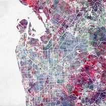 Adelaide map by Map Map Maps