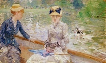 Summer`s Day by Berthe Morisot