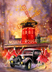 Moulin Rouge Authentic by Miki de Goodaboom